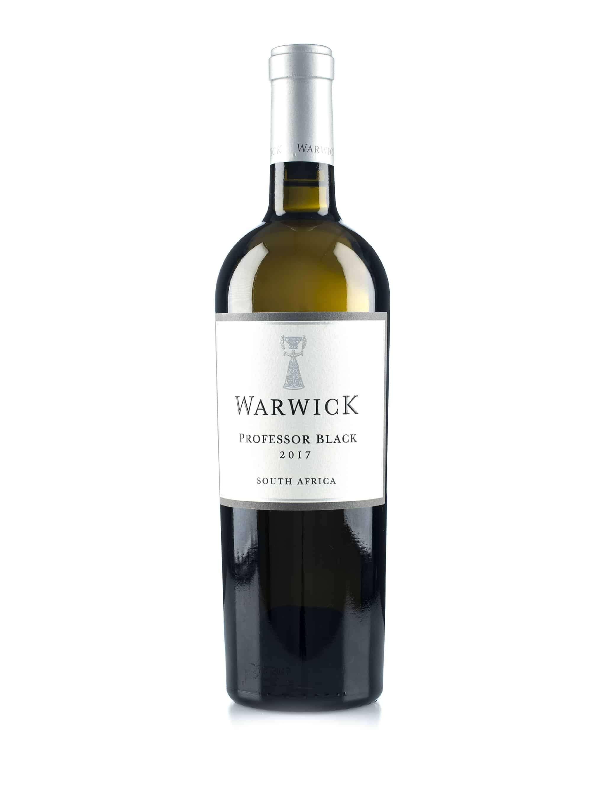 Zuid-Afrikaanse witte wijn van wijndomein Warwick: Professor Black