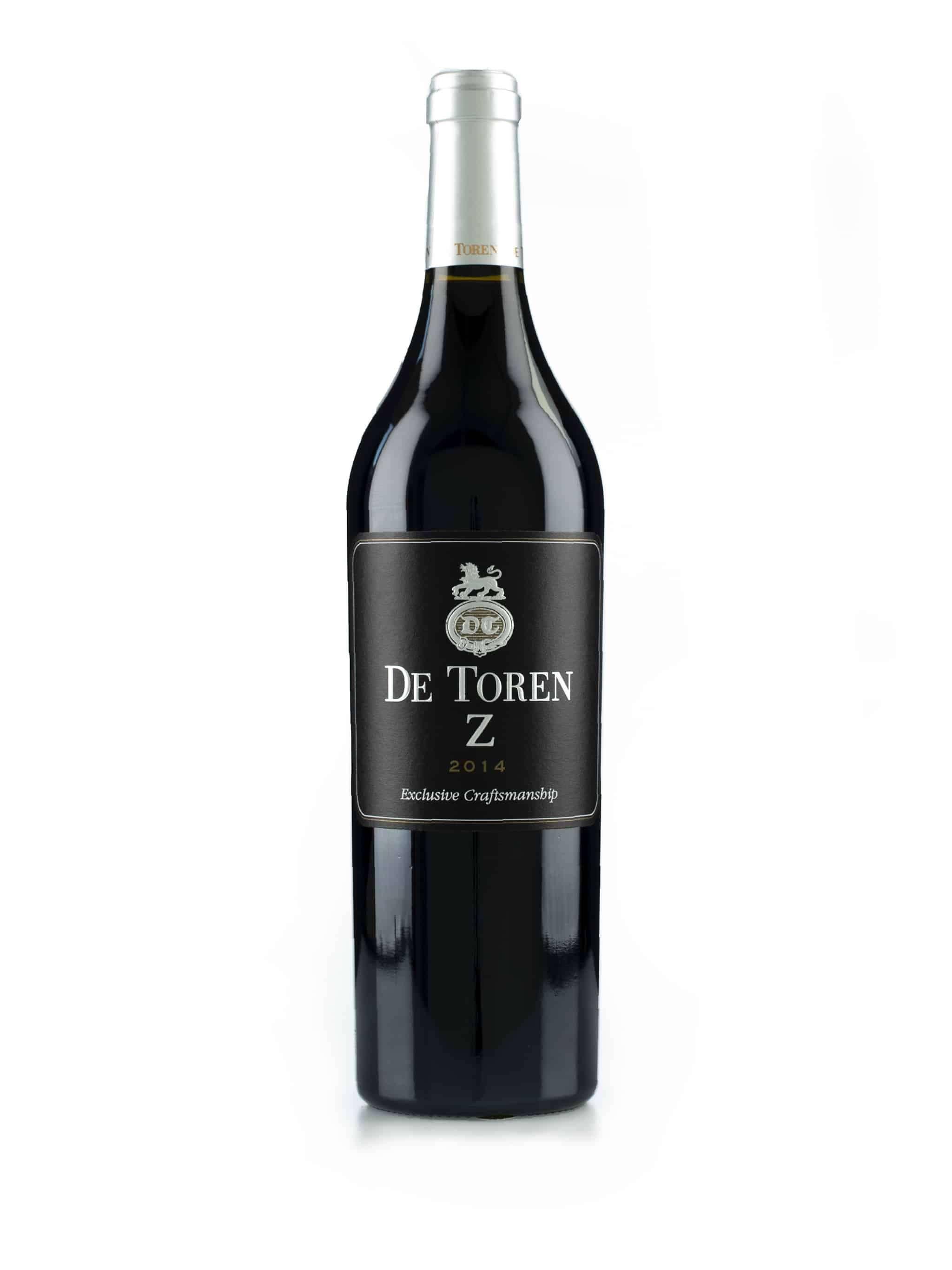 Zuid-Afrikaanse rode wijn van wijndomein De Toren: De Toren Z