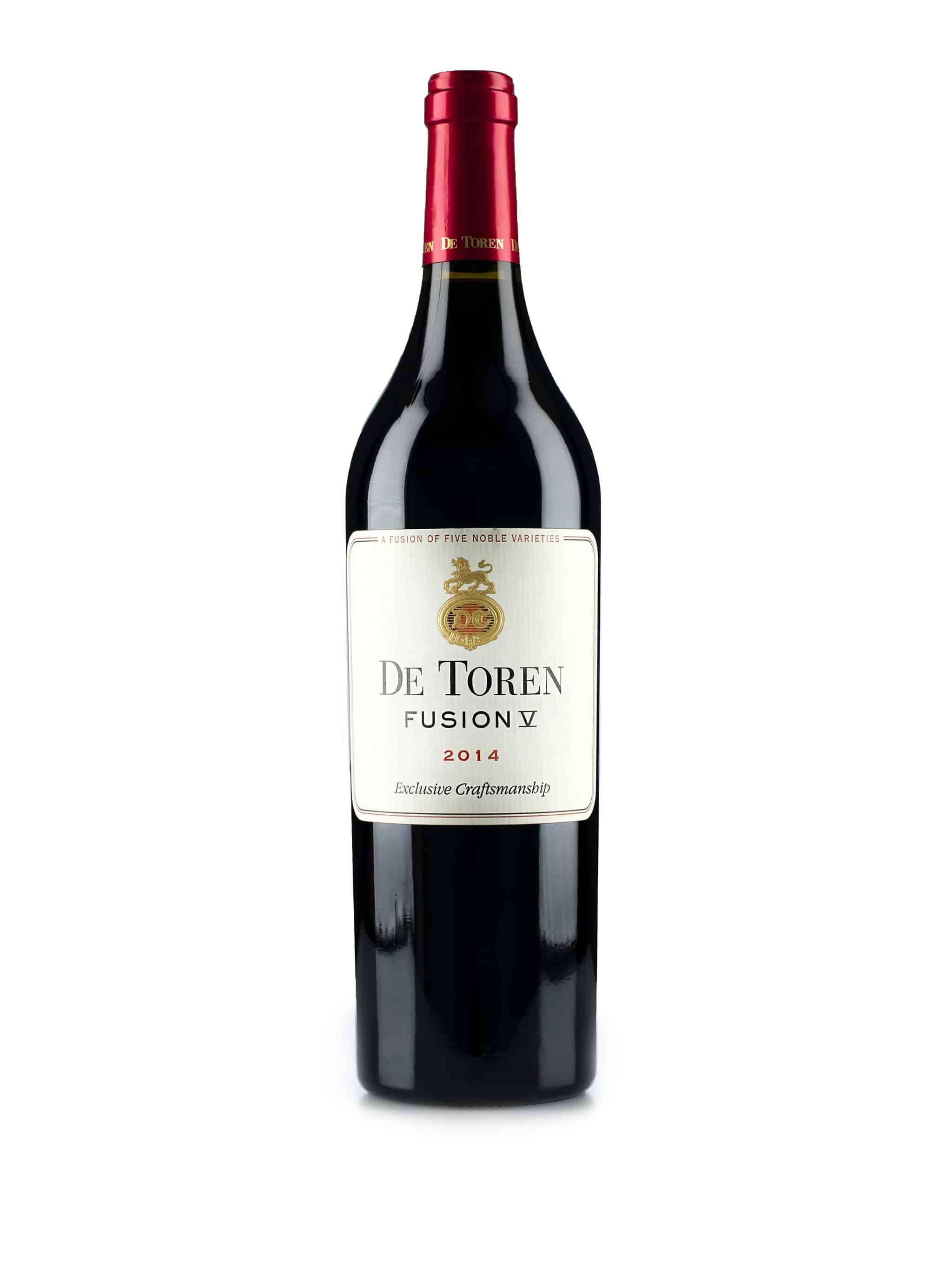Zuid-Afrikaanse rode wijn van wijndomein De Toren: De Toren Fushion V