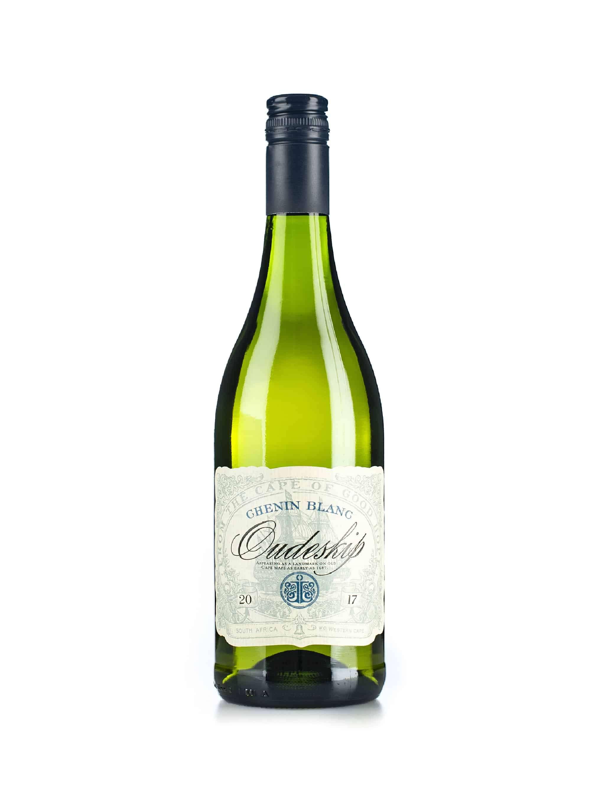 Zuid-Afrikaanse witte wijn van wijndomein Oudeskip: Chenin Blanc