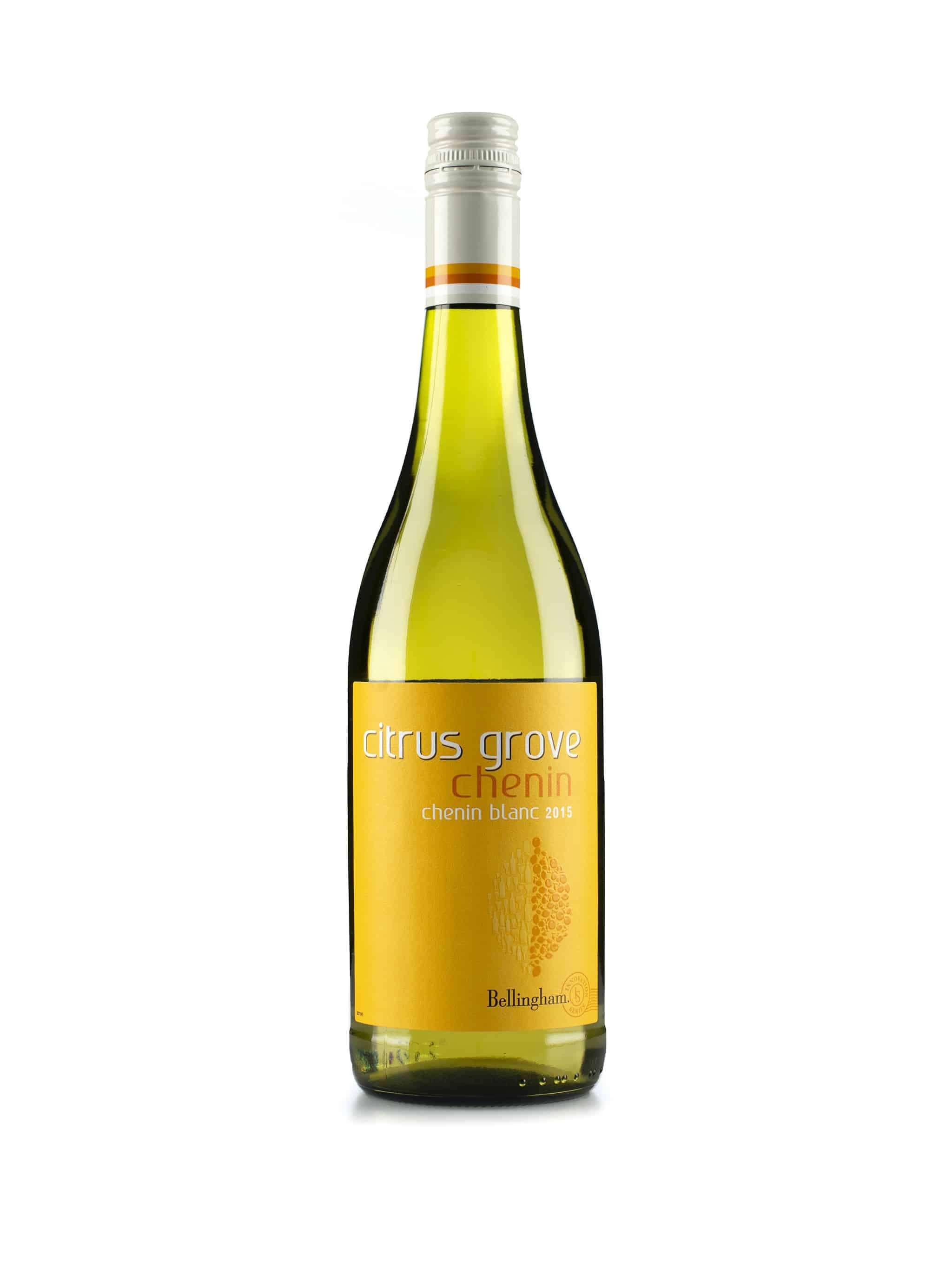 Zuid-Afrikaanse witte wijn van wijndomein Bellingham: Chenin Blanc 'Citrus Grove'