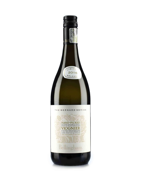 """Zuid-Afrikaanse witte wijn van wijndomein Bellingham: Viognier """"Hand Picked"""""""