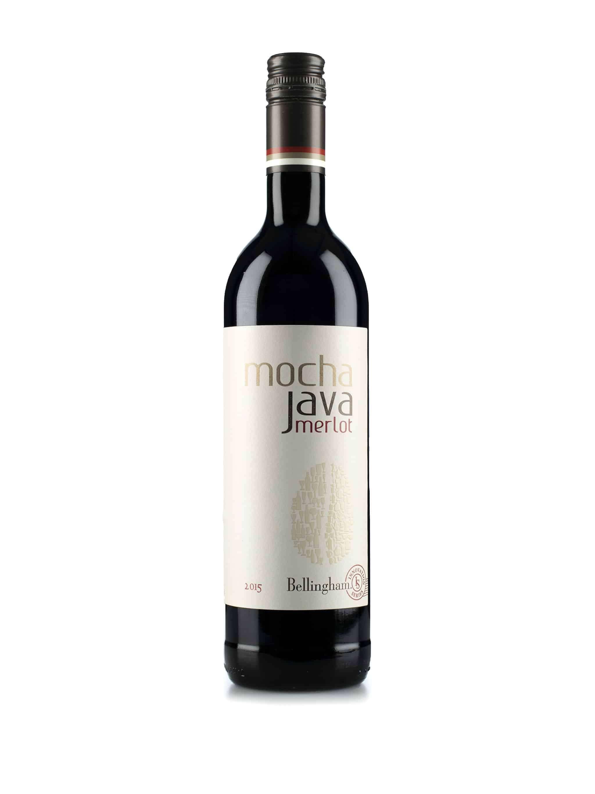 Zuid-Afrikaanse rode wijn van wijndomein Bellingham: Merlot 'Mocha Java'