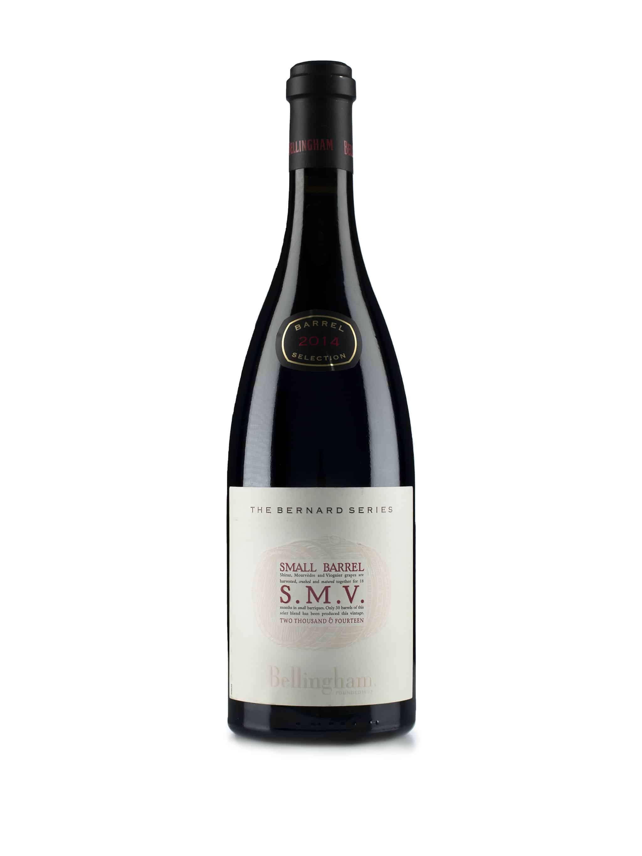 Zuid-Afrikaanse rode wijn van wijndomein Bellingham: SMV 'Small Barrel'