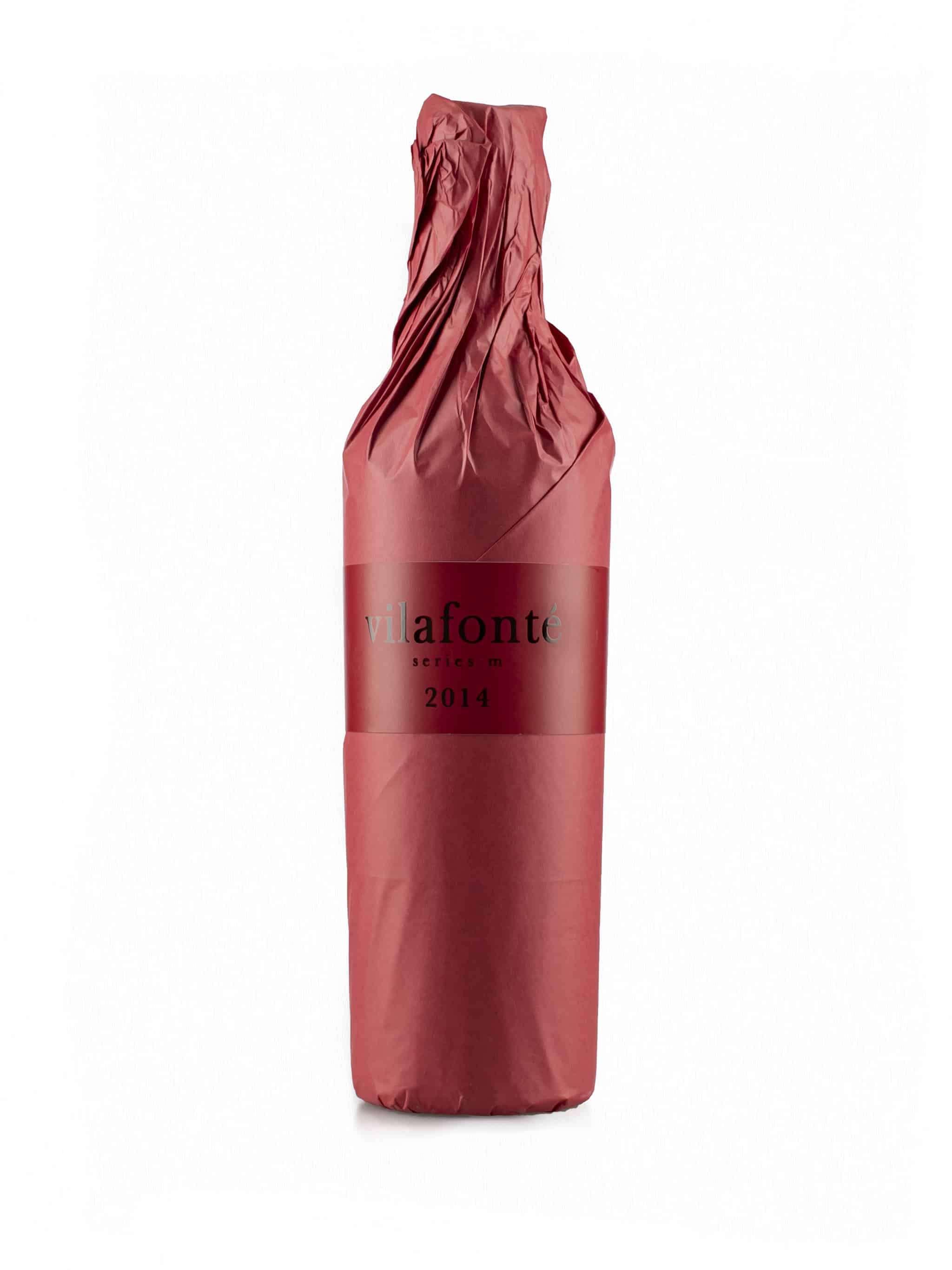 Zuid-Afrikaanse rode wijn van wijndomein Vilafonté: Series 'M' (met verpakking)