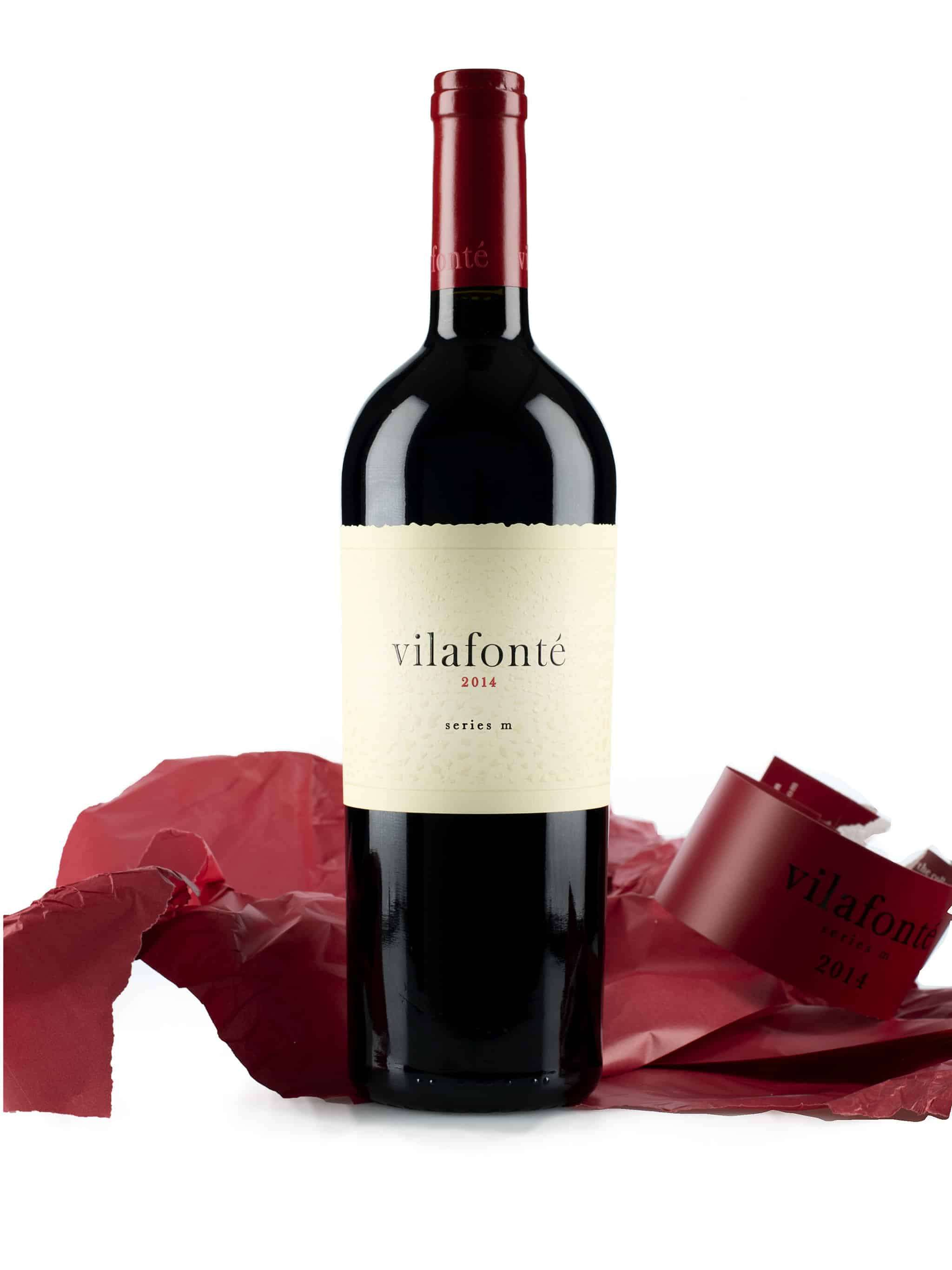 Zuid-Afrikaanse rode wijn van wijndomein Vilafonté: Series 'M' (zonder verpakking)