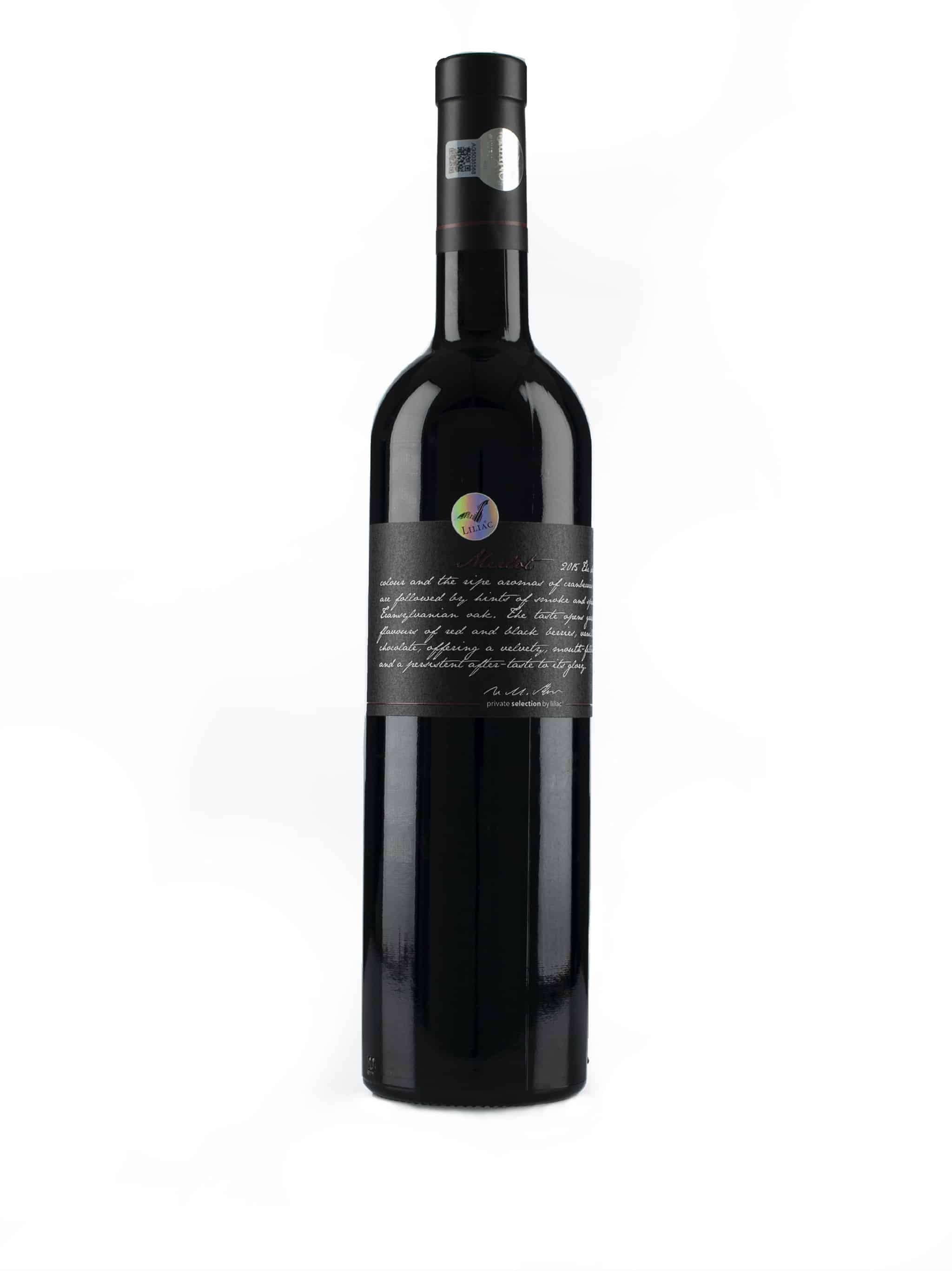 Roemeense rode wijn van wijndomein Liliac: Merlot