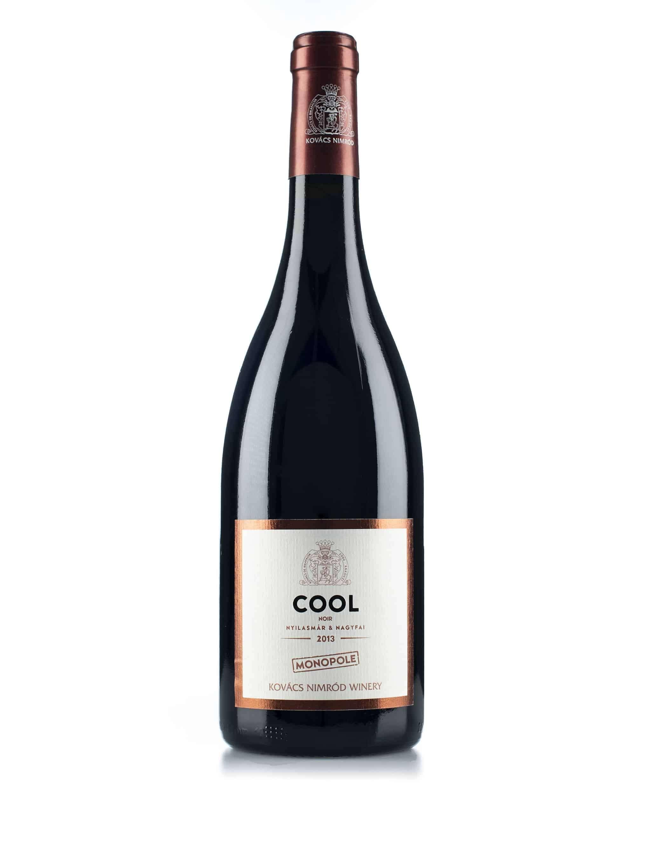 Hongaarse rode wijn van wijndomein Kovacs Nimrod: Pinot Noir 'Cool'