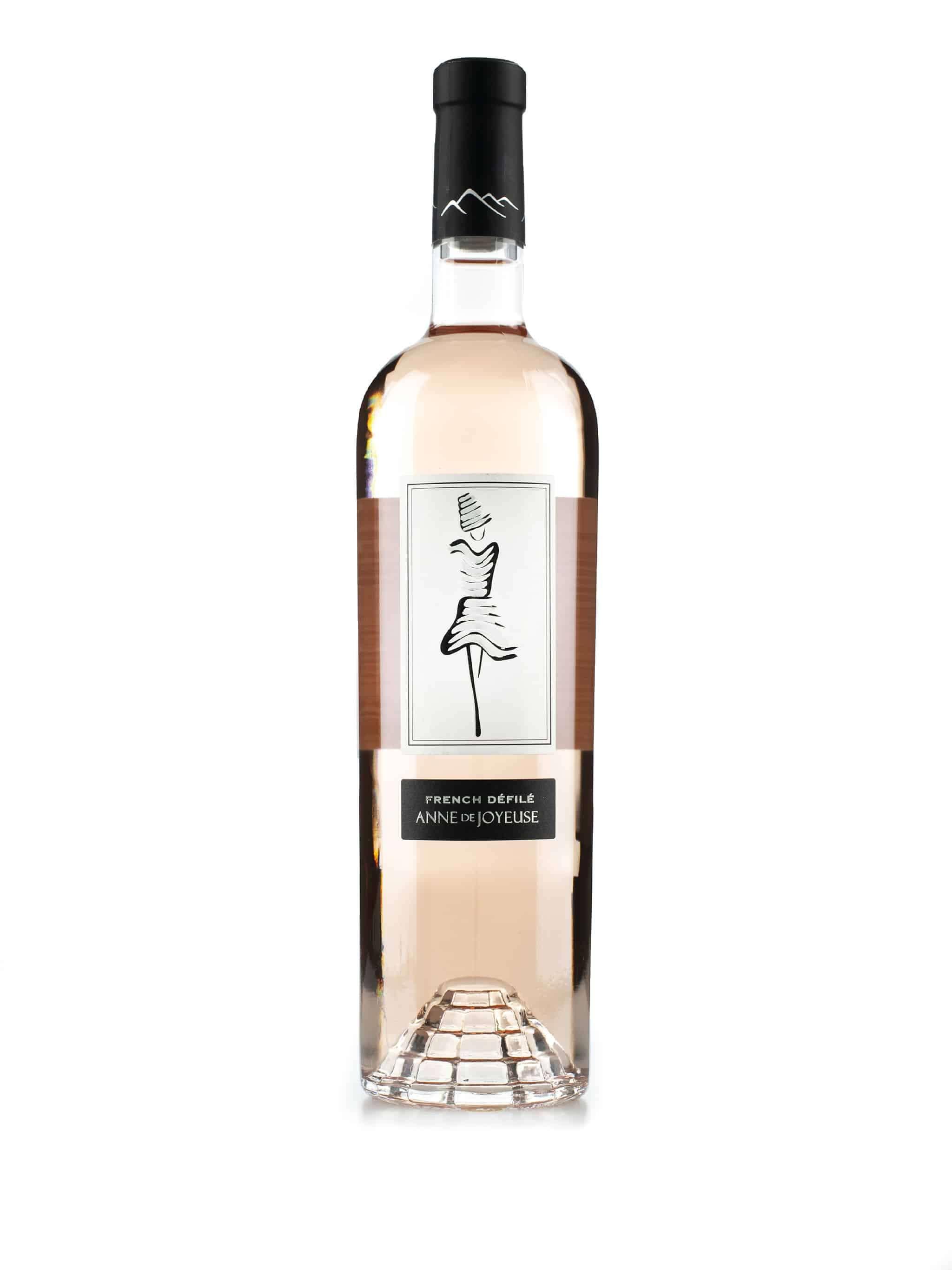 Zuid-Afrikaanse rosé wijn van wijndomein Anne de Joyeuse: Défilé Rosé
