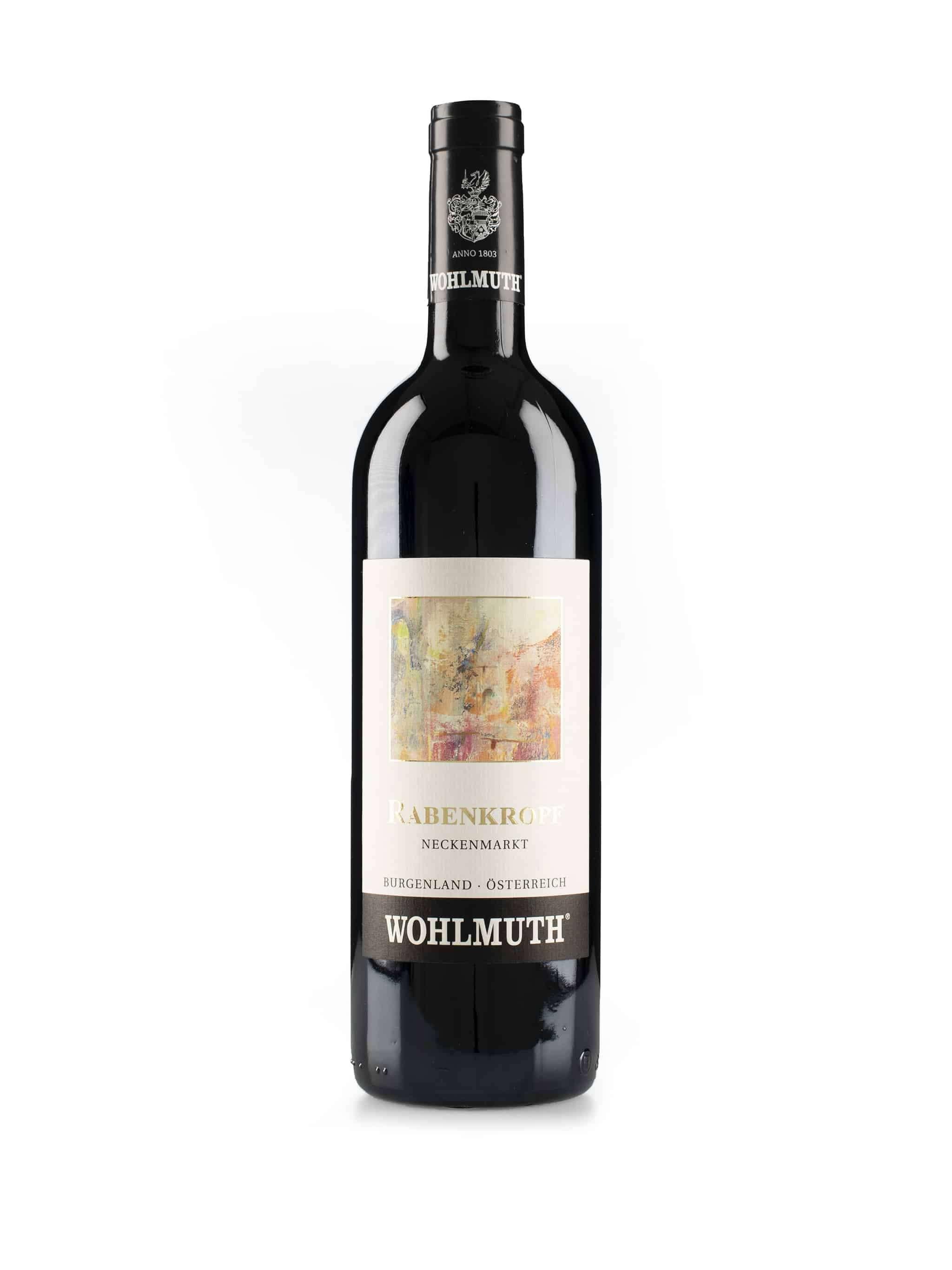 Oostenrijkse rode wijn van wijndomein Wohlmuth: Rabenkropf'