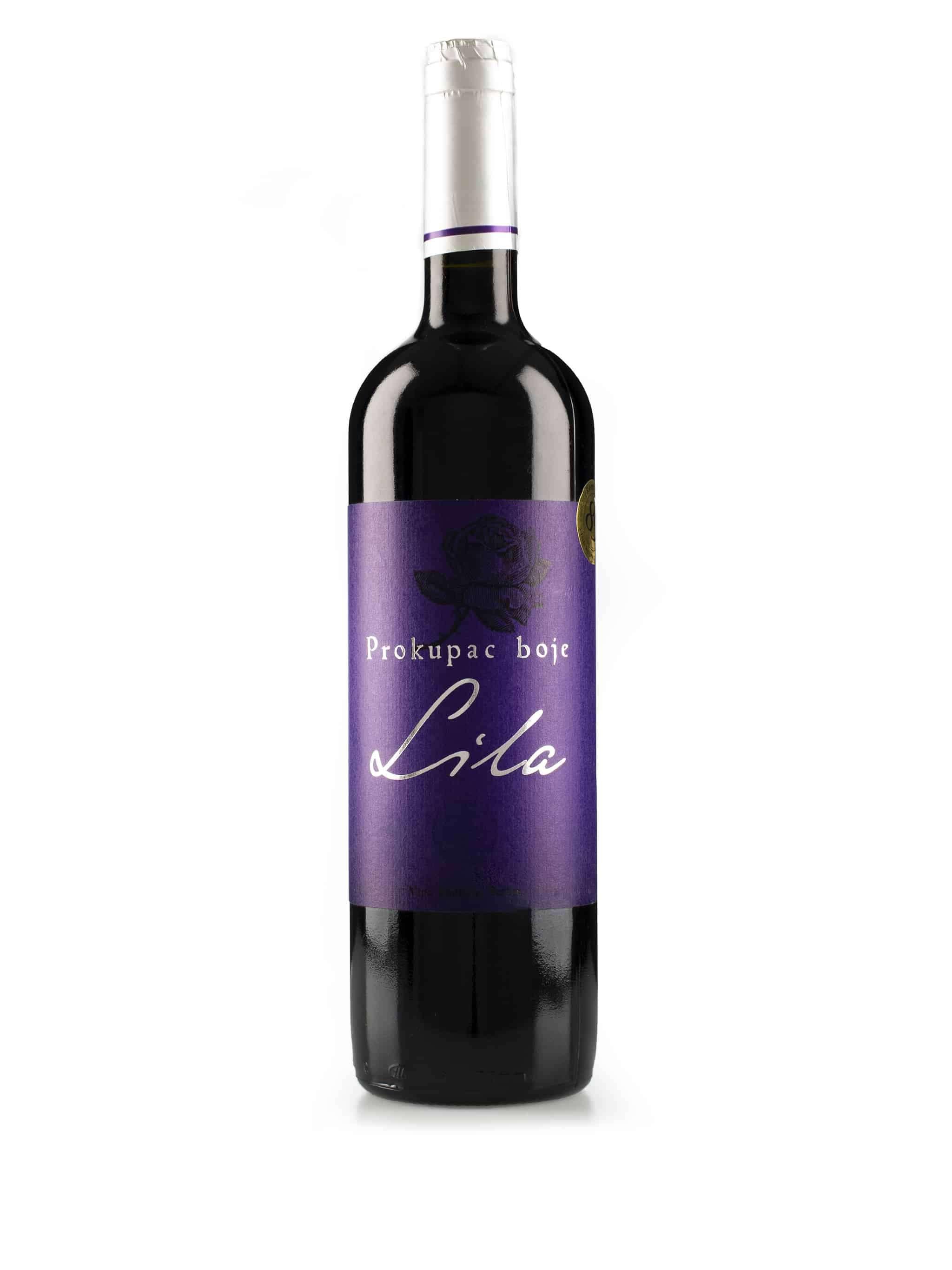 Servische rode wijn van wijnstreek Budimir: Procupak 'Boje Lila'