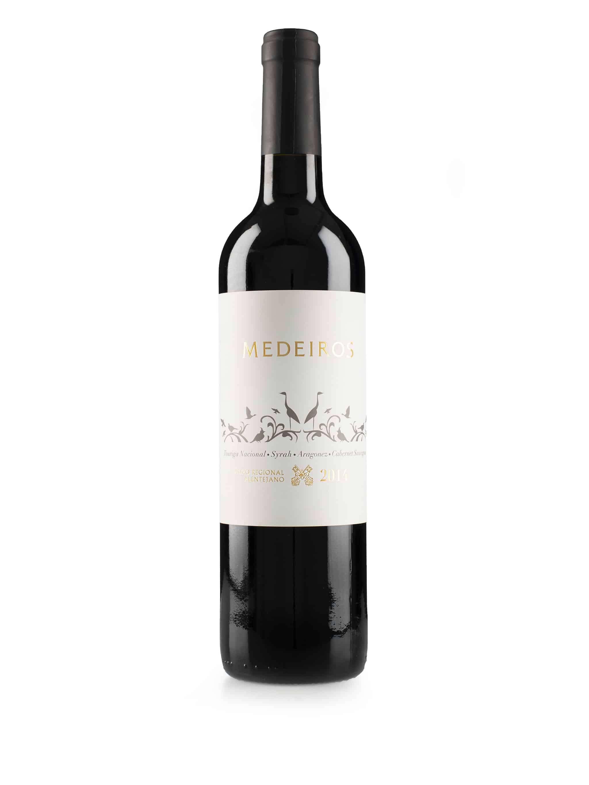Portugeese rode wijn van wijndomein Herdade Monte Medeiros: Monte Medeiros