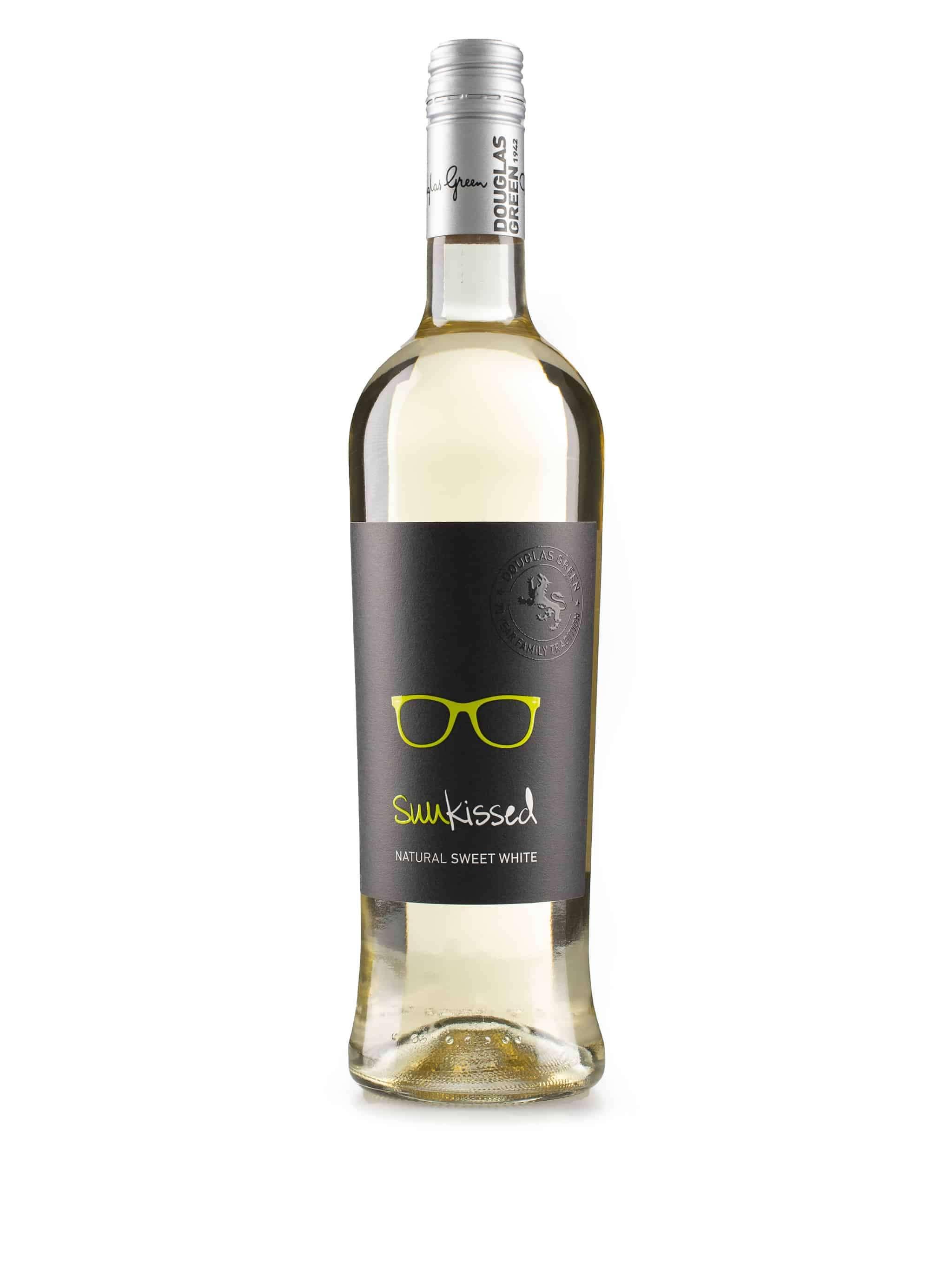 Zuid-Afrikaanse zoete, witte wijn van wijndomein Douglas Green: Sunkissed