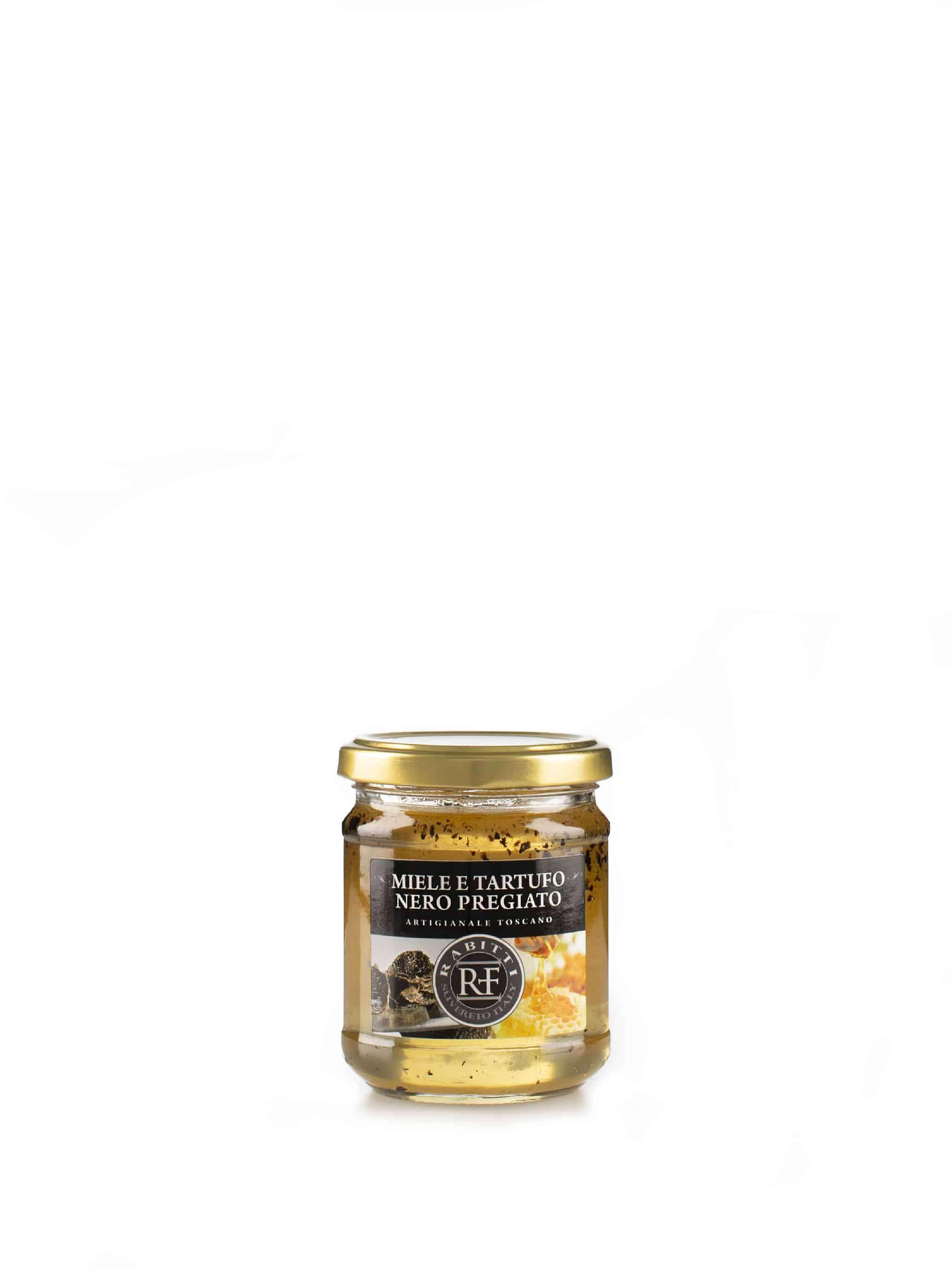 Honing met truffel - Miele e tartufo nero pregiato