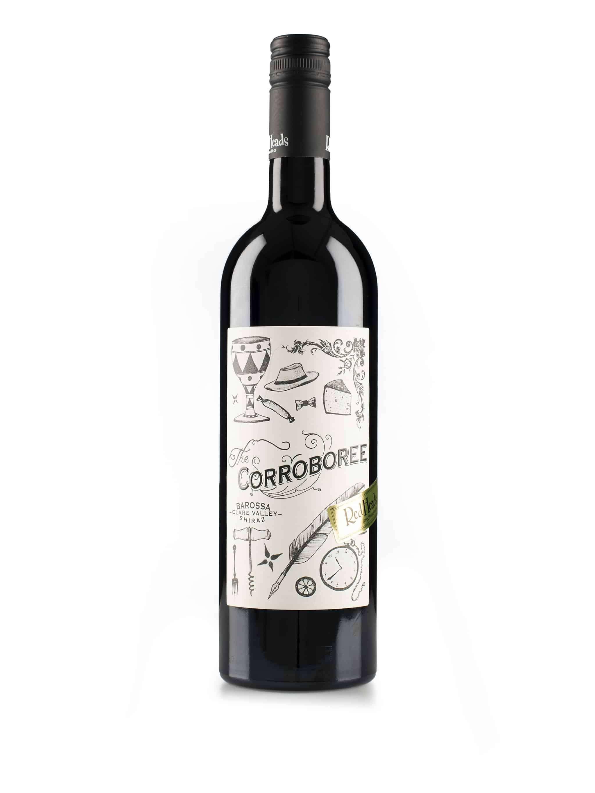 Australische rode wijn van wijndomein Redheads: Shiraz 'Corroboree'