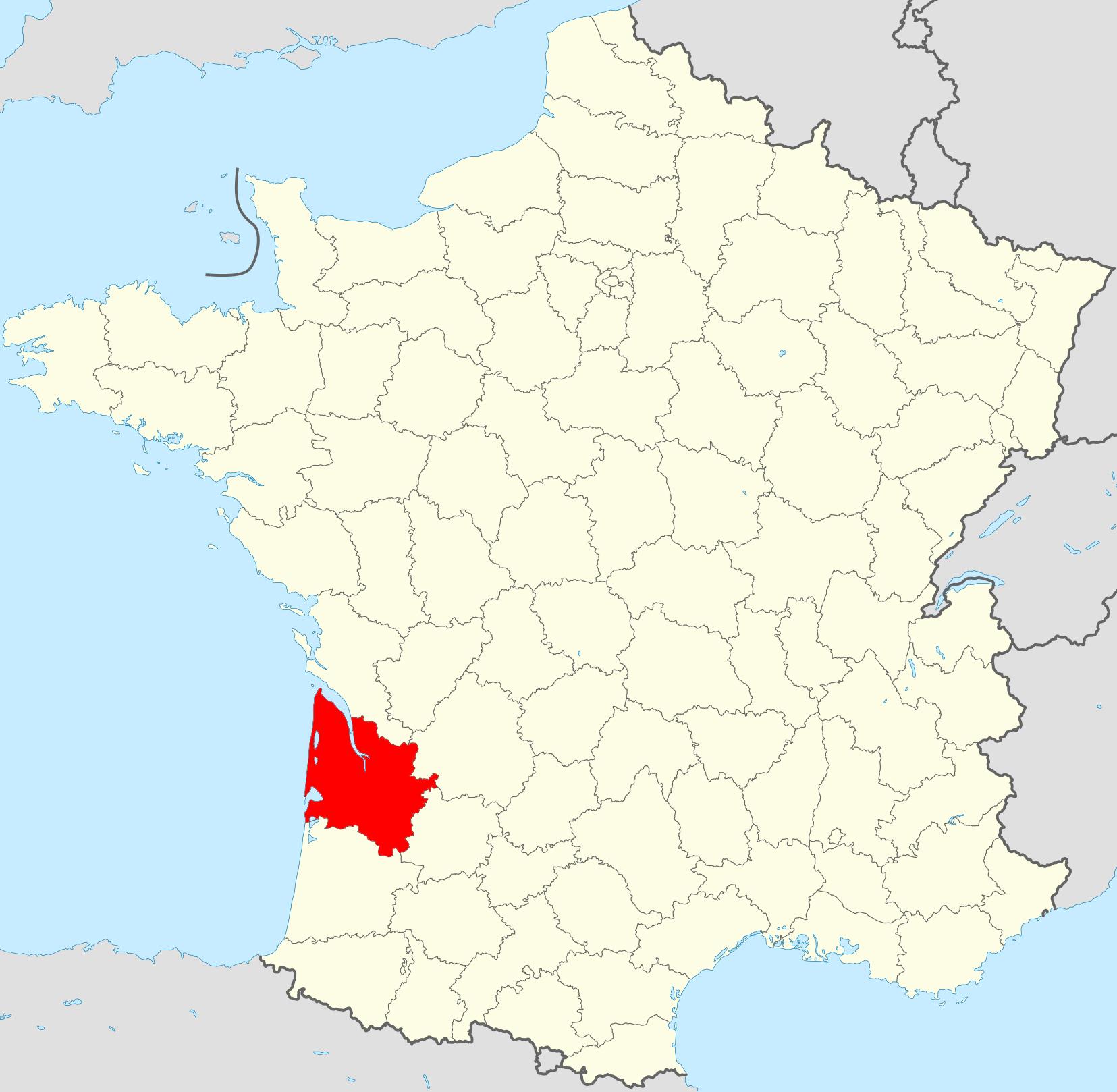 Streek: Bordeaux