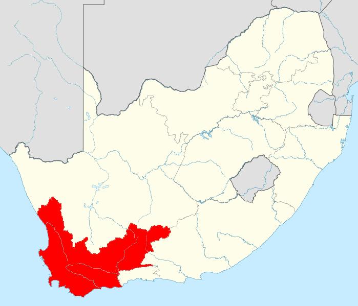 Streek: Western Cape